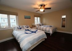 Nautical Virginia Beach Kids bedroom