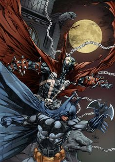 Batman - Spawn by Rahmat M Handoko by h4125.deviantart.com on @deviantART