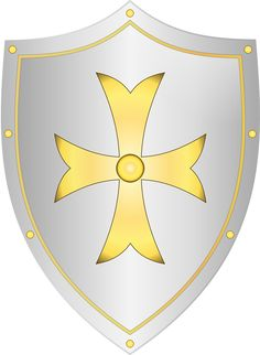 Shield Medieval Knight - Free vector graphic on Pixabay Knight Shield, Knight Armor, Medieval Knight, Medieval Fantasy, David Bible, Mike The Knight, Medieval Shields, Shield Vector, Medieval Party