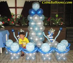 Boy Baptism Party Decoration Ideas - Bing images