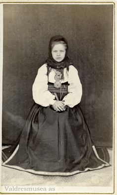 Folk Costume, Costumes, Vintage Photography, Hygge, Norway, The Past, Culture, Children, People