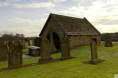 Lindsay Burial Aisle, Perthshire, Kinross & Angus.  All that remains of Edzell Old Church, this 14th Century burial Aisle has been used for many different purposes. #Scotland #History #Travel #Undiscovered #Explore