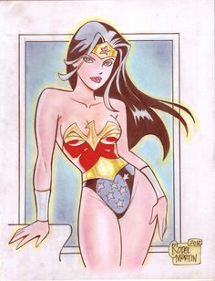 'Cartoon'+Wonder+Woman+(#1)+by+Rodel+Martin+by+VMIFerrari.deviantart.com+on+@deviantART
