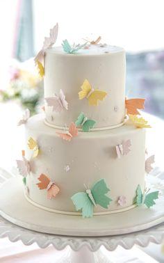 Baby Shower Butterfly cake - thanks to Sweet Art in Paddington, Sydney Australia
