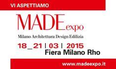 Made Expo 2015 dal 18 al 21 marzo - Cose di Casa
