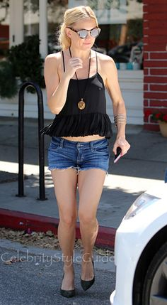 SHOP Siwy Siwy Camilla Cutoff Shorts in Come Away with Me Seen On Kate Hudson