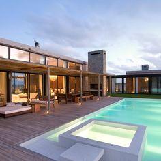 La Boyita House located in Punta del Este, Uruguay. Argentinian firm Estudio Martin Gomez Arquitectos