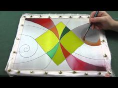 Холодный батик мастер класс. Роспись шелковой ткани акриловыми и парозакрепляемыми красками по шёлку - YouTube