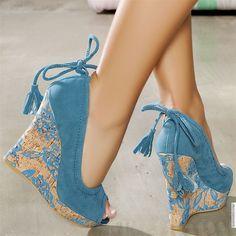 Escarpins femme Bleu taille 39, achat en ligne Escarpins femme sur MODATOI