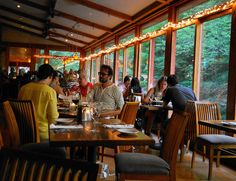 bear cafe overlooking the stream in woodstock, ny.   The Place to be! Artists, musicians, actors, actresses and the rich and famous love the Catskill's! Why aren't you here? Get your own! Call Upstate NY & Catskill's Real Estate & Land Expert. Kellie Place at Century 21 ~ 607-434-5263  www.century21upstatenewyork.com