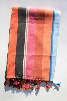 Paradise People | Indian Summer Stripe Blanket