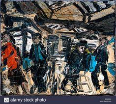 kossoff booking hall kilburn - Google Search Leon Kossoff, David Bomberg, Red Bedding, Expressionism, Paintings, London, Google Search, School, Paint