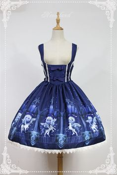 Guardian of Time & Space ~Vintage Lolita Corset JSK Dress