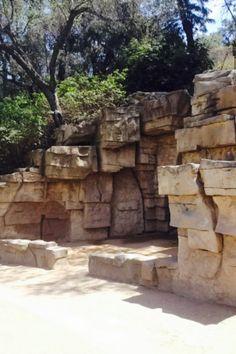 Ruins of the LA zoo