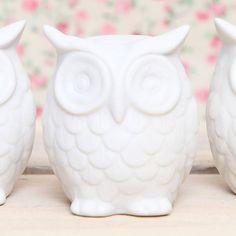 Ceramic Owl Decoration