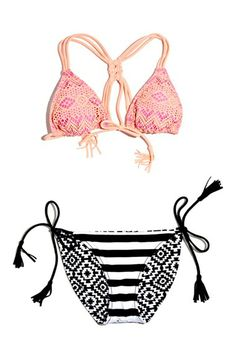 Smoothies by Gossip 'Summer Crochet' Triangle Bikini Top