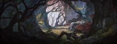 Animation Backgrounds: BLACK CAULDRON