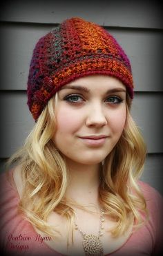 Effortless Chic Beanie By Beatrice Ryan Designs - Free Crochet Pattern - (ravelry)