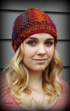 Effortless Chic Beanie By Beatrice Ryan Designs - Free Crochet Pattern - (ravelry)