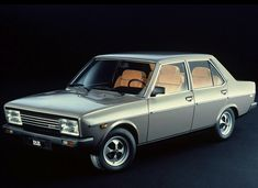 I'm not much of a car guy, but good grief this old Fiat -- a '78 apparently -- is nice looking.