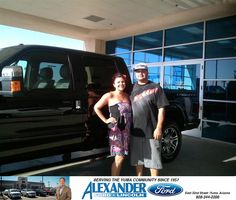 THANK YOU TO BLAKE STALLWORTH AND JOSE GUERRERO FOR HELPING ME GET MY 2014 F250. THEY BOTH WENT ABOVE AND BEYOND MY EXPECTATIONS ON GETTING WHAT I WANTED AND FOR THAT I AM VERY SATISFIED AND A HAPPY CUSTOMER. IF YOU WANT A NEW CAR GO TO ALEXANDER FORD AND GET THE DEAL DONE YOU WONT BE DISAPPOINTED.  DALE SEAN MALLETT Saturday, July 12, 2014