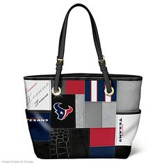 For The Love Of The Game Houston Texans Tote Bag