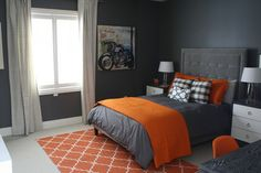 1000 Images About Gray Orange Home Decore On Pinterest Orange Chairs