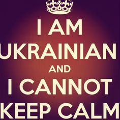 Ahah now that's a true Ukrainian!