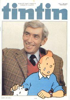 Journal de TINTIN N° 11 du 15 Mars 1983 les adieux au père de Tintin