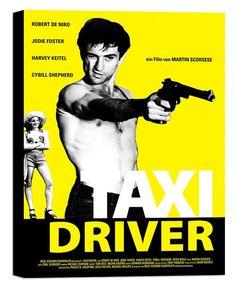 Taxi Driver 1976 di Martin Scorsese con Robert de Niro e Jodie Foster. Jodie Foster, Martin Scorsese, Cybill Shepherd, Films Cinema, Cinema Posters, 70s Films, 1976 Movies, Art Posters, Classic Movie Posters