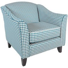 Brighton Houndstooth Accent Chair