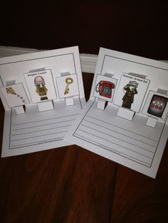 Inventors Writing Activity $ and graphic organizer FREEBIE!