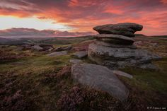 Sunset over the Rocks by Rob Harris on 500px