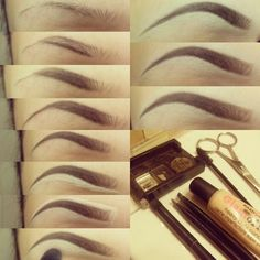 The perfect eyebrow tutorial