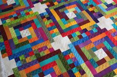 bold geometric black and white quilts   Quilting Is My Therapy Geometric Quilting Designs- Angela Walters ...