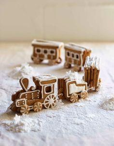 The Kate Tin: Gingerbread Train