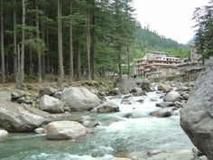 Manali is a hill station nestled in the mountains of the Indian state of Himachal Pradesh near the northern end of the Kullu Valley, at an altitude of 2,050 m (6,726 ft) in the Beas River Valley.