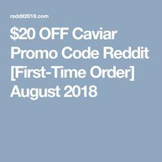 caviar promo code $10 off
