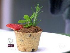 Vasinhos de Chocolate - Foto de Mais Você na TV