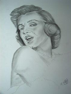Marilyn Monroe - Grafite