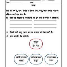 Hindi Grammar - Sangya (Noun) Lkg Worksheets, Nouns Worksheet, Hindi Worksheets, 2nd Grade Worksheets, School Worksheets, Grammar Worksheets, Kindergarten Worksheets, Printable Worksheets, Teaching Grammar