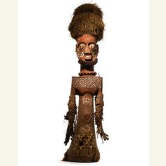 Kuba-Kete Figural Headcrest, Democratic Republic of the Congo from the collection of Allan Stone. Sotheby's estimate: 700,000 to 1 million dollars. Auction takes place on November 13, 2013.