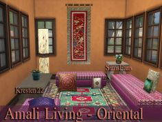 Amali Living Oriental Collections by Kresten 22 at Sims Fans via Sims 4 Updates