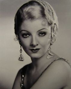 Myrna Loy, 1930's  SHE WAS SO GORGEOUS <3<3<3