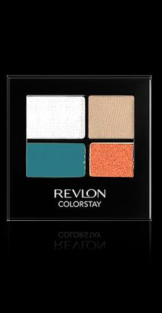 Revlon® ColorStay™ 16-Hour Eye Shadow. ALL-DAY, LUXURIOUS COLOR WON'T CREASE, FADE OR SMUDGE. My Shade: WILD.