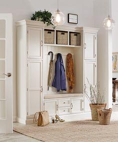 Entryway extraordinaire. HomeDecorators.com #storage #organization