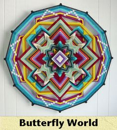 """17 page PDF of """"abbreviated"""" instructions for free; complete instructions, kits, completed Ojo de Dios available here and on Etsy."""