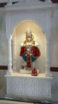 ಬಾಸ್ 💞😘 - 😍💝I love my family💝😍 - ShareChat Good Morning In Hindi, Good Morning Happy, Morning Msg, Mandir Design, Pooja Room Design, Hanuman Wallpaper, Radha Krishna Wallpaper, Shri Hanuman, Durga