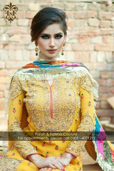 Farah and fatima coture