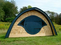 Totally need this. A hobbit house of my own. :)